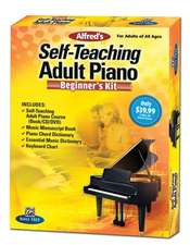 Alfred's Self-Teaching Adult Piano Beginner's Kit [With CD (Audio) and DVD and Dictionary]:  Easy Piano