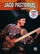 Jaco Pastorius -- Modern Electric Bass:  Book, DVD & Online Video