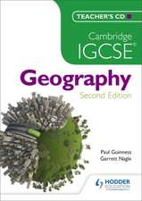 Cambridge IGCSE Geography Teachers CD