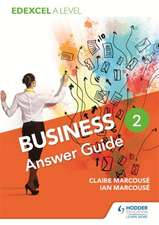 Edexcel Business A Level Year 2: Answer Guide