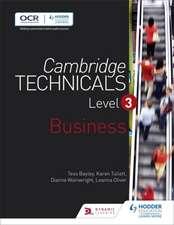 Cambridge Technicals Level 3 Business