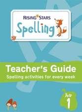Rising Stars Spelling Year 1