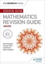 Edexcel GCSE Maths Higher: Mastering Mathematics Revision Guide