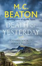 Beaton, M: Death of Yesterday