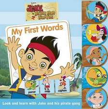 Disney Jake and the Never Land Pirates Tabbed Book