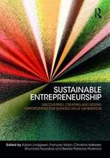 Lindgreen, P: Sustainable Entrepreneurship