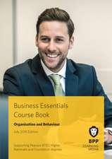 Business Essentials Organisation and Behaviour