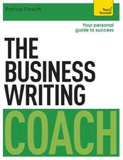 The Business Writing Coach:  An Introduction