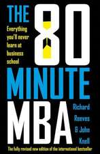 The 80 Minute MBA