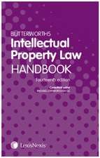 Butterworths Intellectual Property Law Handbook