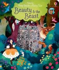 Milbourne, A: Peep Inside: Beauty and the Beast