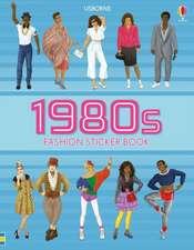 1980s Fashion Sticker Book