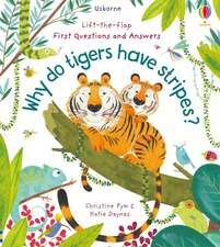 LTF FIRST Q A WHY DO TIGERS HAVE STRIPES