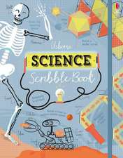 James, A: Science Scribble Book