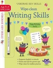 KS WIPE CLEAN WRITING SKILLS 5 6