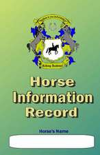 Horse Information Record