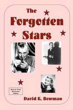 The Forgotten Stars - B&w
