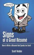 Signs of a Great Resume