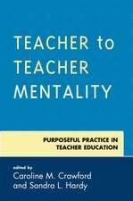 TEACHER TO TEACHER MENTALITY PPB