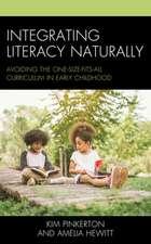 INTEGRATING LITERACY NATURALLYPB