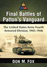 Final Battles of Patton's Vanguard