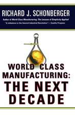 World Class Manufacturing:  Building Power, Strength, and Value