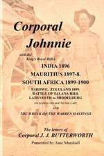 Corporal Johnnie:  Book of Four Poets