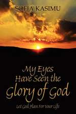 My Eyes Have Seen the Glory of God:  Let God Plan for Your Life
