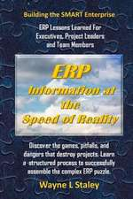 Erp Information at the Speed of Reality