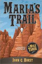 Maria's Trail:  The First Adventures of Senora Chica Walsh, Hero of the Mule Tamer Trilogy