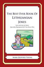 The Best Ever Book of Lithuanian Jokes