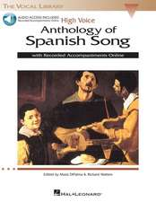 Anthology of Spanish Song: High Voice