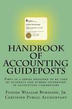 Handbook of Accounting Guideposts