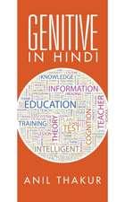 Genitive in Hindi