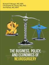 Business, Policy, and Economics of Neurosurgery