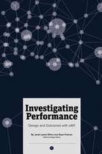 Investigating Performance: Design and Outcomes with xAPI