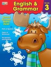 English & Grammar Workbook, Grade 3