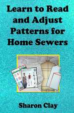 Learn to Read and Adjust Patterns for Home Sewers