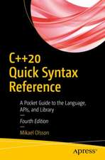 C++20 Quick Syntax Reference