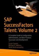 SAP SuccessFactors Talent: Volume 2