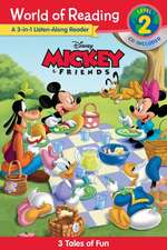 World of Reading Mickey and Friends 3-in-1 Listen-Along Reader (World of Reading Level 2): 3 Fun Tales with CD!