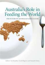 Australia's Role in Feeding the World: The Future of Australian Agriculture