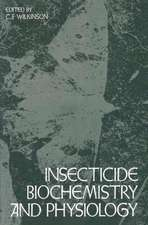 Insecticide Biochemistry and Physiology