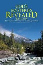 God's Mysteries Revealed (Deut.29