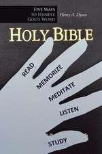 Five Ways to Handle God's Word