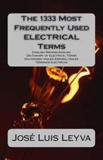 The 1333 Most Frequently Used Electrical Terms