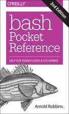 Bash Pocket Reference 2e