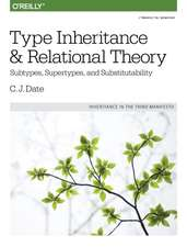 Type Inheritance and Relational Theory