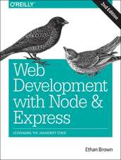 Web Development with Node and Express 2e