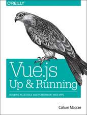 Vue.js – Up and Running
